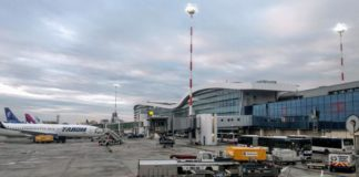 Patru persoane, rănite într-un accident produs platforma Aeroportului Otopeni