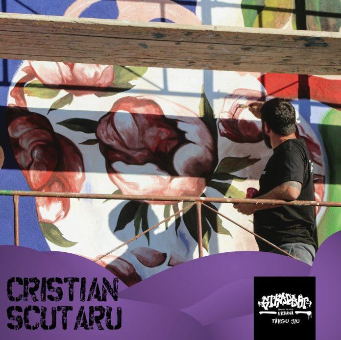 Cristian Scutaru, artist stradal, profesor și pictor