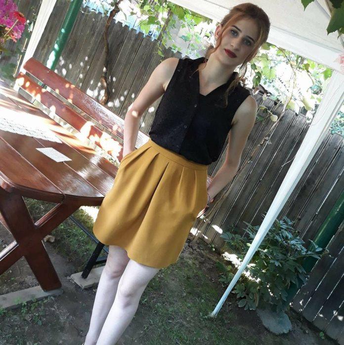 Cristina Călescu (foto facebook) vrea să devină învățătoare