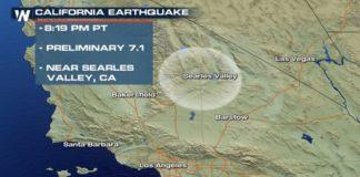 Cutremur major cu magnitudinea de 7,1 grade produs în California