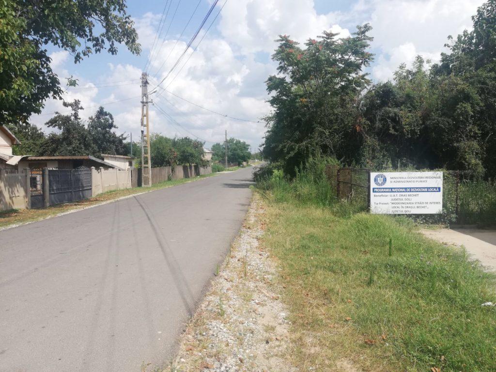 Drum asfaltat din Bechet