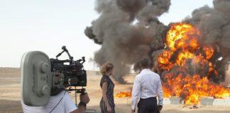 Explozie pe un platou de filmare din Marea Britanie