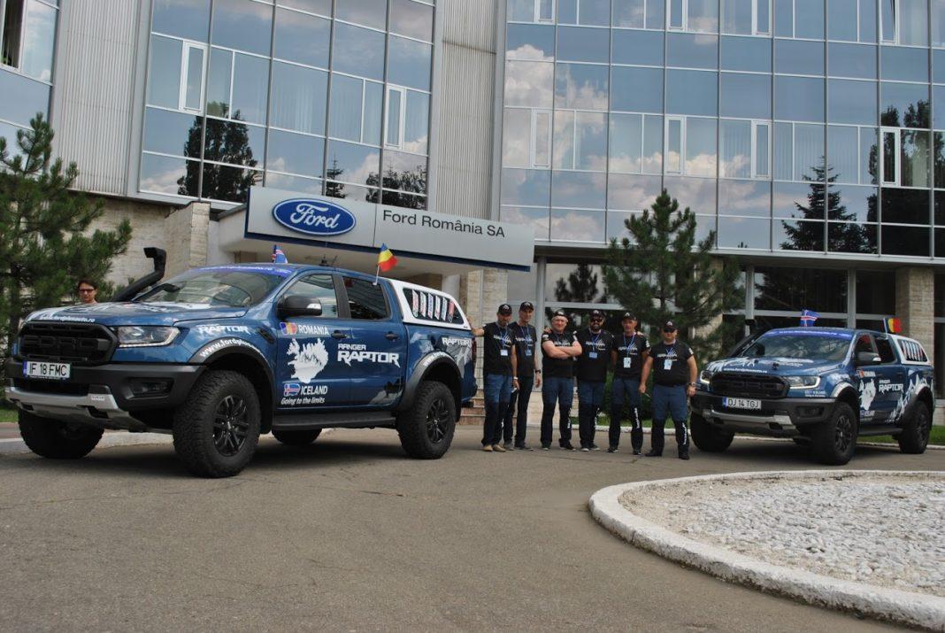Echipa Ford Plusauto care va pleca în expediţia din Islanda
