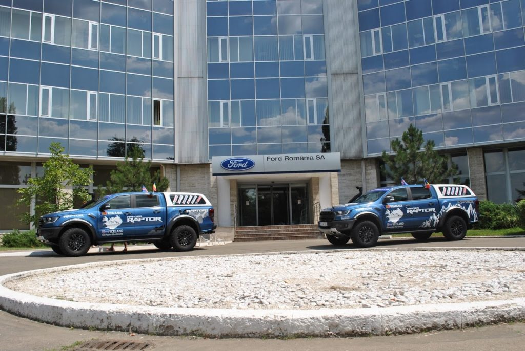 Echipa Plusauto și noul Ford Ranger Raptor, expediţie spre Islanda