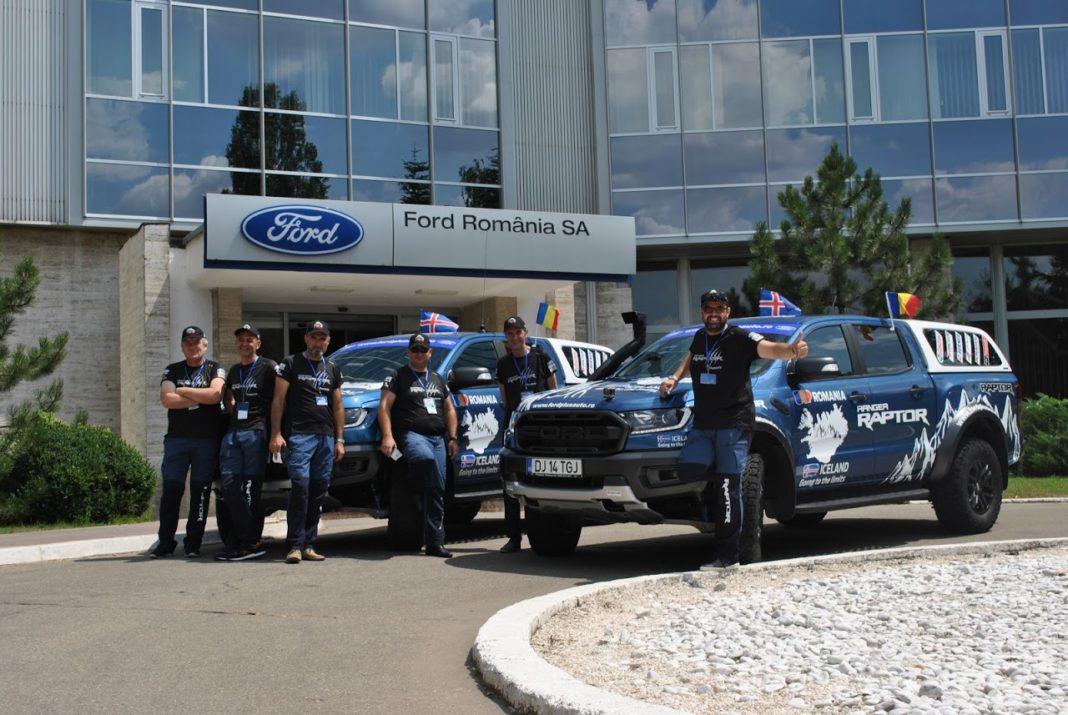 "Echipa Ford Plusauto care a plecat în expediţia din Islanda - ""Ranger Raptor Iceland - Going to the limits!"""