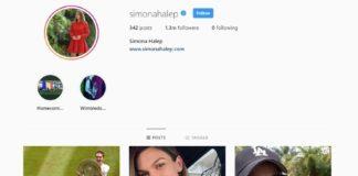 Contul de Instagram al Simonei Halep, atacat de hackeri