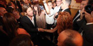Ada Condeescu s-a întâlnit cu Brad Pitt la Srajevo