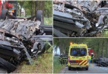 Un român a murit într-un cumplit accident