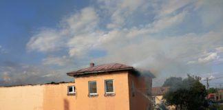 Căminul cultural din Găneasa a fost cuprins de flăcări