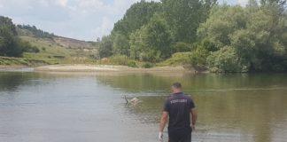 Bărbat înecat în Jiu