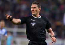 Istvan Kovacs împarte dreptatea la derbiul Dinamo - Craiova (Foto: frf.ro)