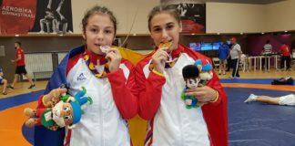 Ana-Maria Pîrvu şi Georgiana Lavinia Antuca au strălucit la Baku (Foto: COSR)