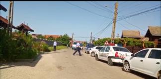 Polițiști din cadrul Poliției Municipiului Târgu Jiu au descins luni la o locație de pe raza localității gorjene Drăguțești