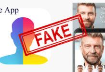 Atenție la aplicața falsă Face App!