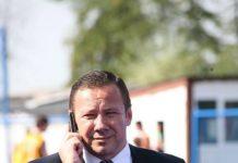 Președintele Clubului Sportiv Pandurii Târgu Jiu, Mihai Prunariu