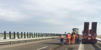 Lucrări pe autostrada A1 Bucureşti - Piteşti