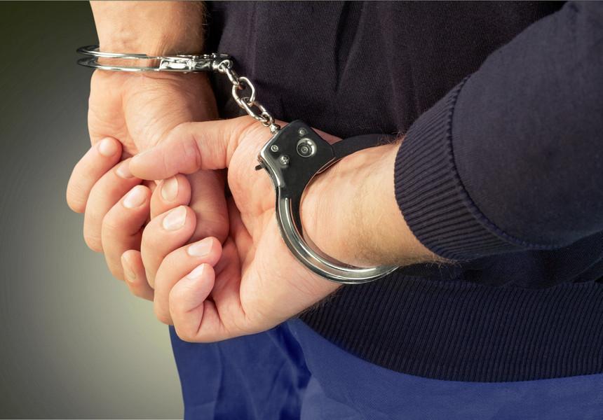 Suspectul a fost reţinut în cursul zilei de luni
