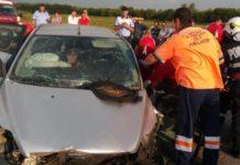 Un mort şi un rănit este bilanţul accidentului de pe DN 6
