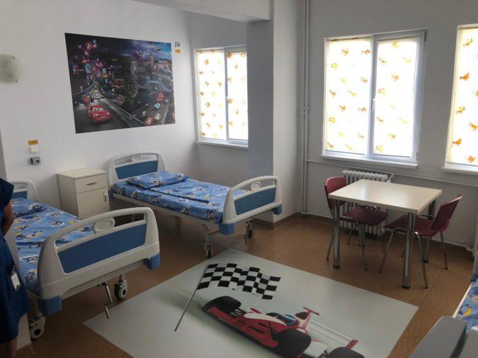 Etajul cinci al Spitalului de Boli Infecţioase Craiova, renovat complet