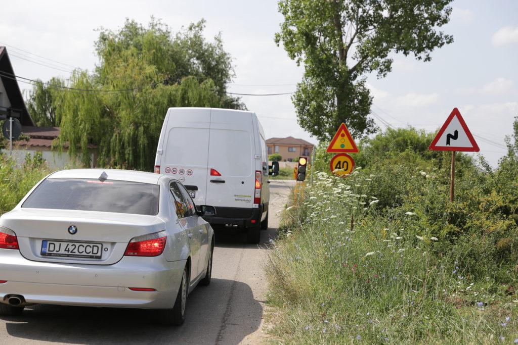 semafor drum Carcea