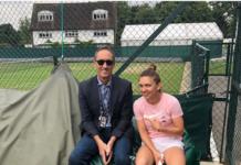 Simona Halep s-a antrenat cu Darren Cahill (Foto: Instagram)