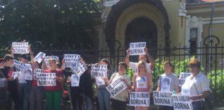 """""""Cazul Sorina"""", judecat sub presiune, astăzi, la Curtea de Apel Craiova"""