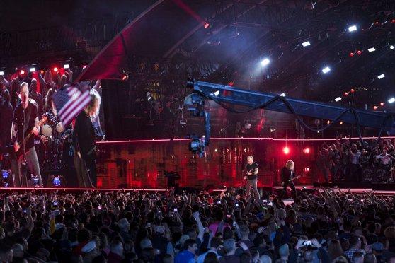 Metallica cântă astăzi la Bucureşti