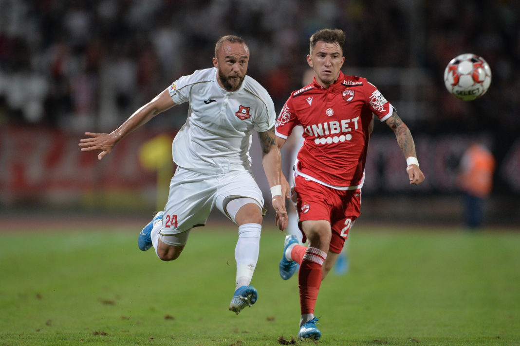 """Dinamo Bucureşti a învins-o pe FC Hermannstadt şi a părăsit """"lanterna roşie Foto: (prosport.ro)"""