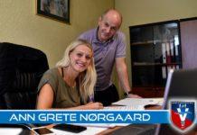 Ann Grete Norgaard a semnat un contract valabil două sezoane cu campioana României