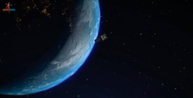 Sonda indiană Chandrayaan-2 s-a plasat cu succes pe orbita lunară