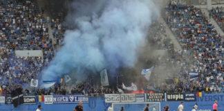 Universitatea Craiova poate evolua în meciul cu AEK Atena doar în faţa unui public de copii (Foto: Alex Vîrtosu)