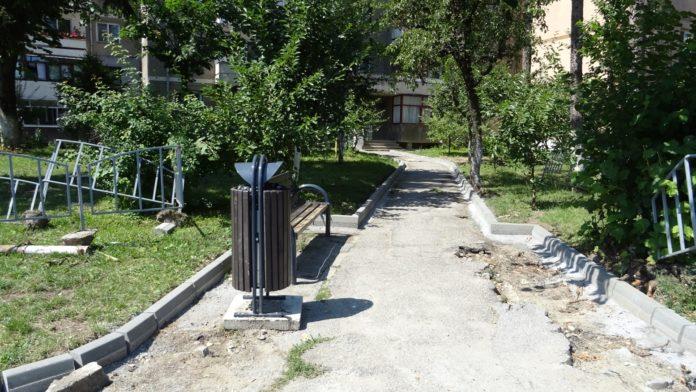 Lucrări de modernizare în cartierul Nord