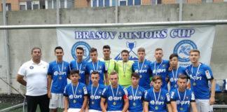 """Juniorii U19 ai Academiei """"Gică Popescu"""" s-au încălzit la Braşov pentru bătăliile ce vor urma la Liga Elitelor"""