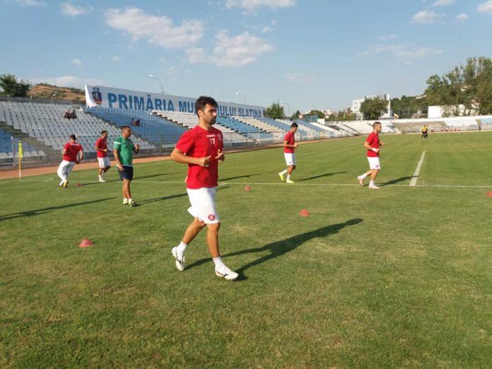 Vasile Gheorghe, decisiv în primul meci (Foto: CSM Saltina)