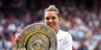 Trofeul de la Wimbledon îi aduce o nouă satisfacţie Simonei Halep