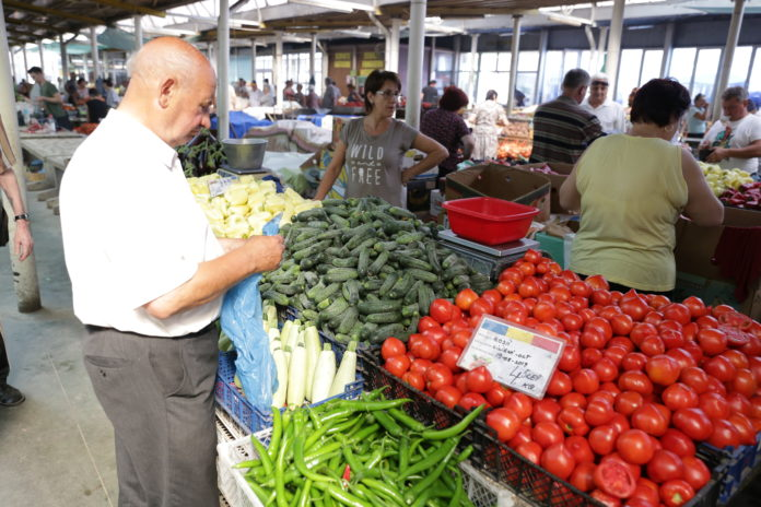 legume în piaţă