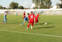 """U"" II Craiova şi CSM Slatina au încheiat la egalitate, scor 1-1 Foto: CSM Slatina - Fotbal"