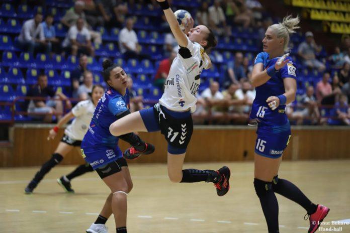 SCM Vâlcea a pierdut la limită partida cu Brest Foto: SCM Vâlcea