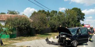 Accident cu 3 victime pe DN65