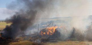 Tipografie mistuită de flăcări în Vâlcea