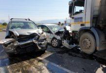 Patru răniţi în urma unui accident rutier