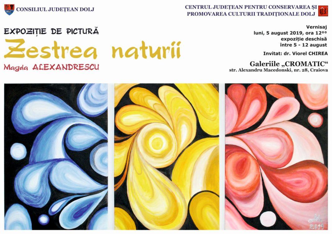 """Expoziția de pictură """"Zestrea naturii"""", vernisată la Galeriile """"Cromatic"""""""
