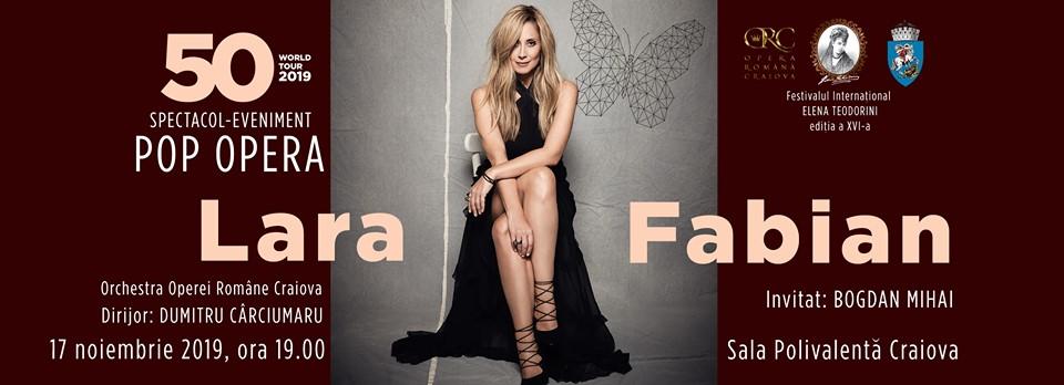 Lara Fabian va concerta la Craiova în această toamnă