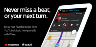 Waze primeşte YouTube Music