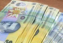 Moneda naţională s-a depreciat în raport cu principalele valute
