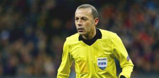 Cuneyt Cakir va arbitra partida dintre CFR Cluj şi Slavia Praga