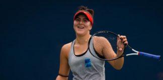 Bianca Andreescu se luptă pentru un loc în optimi cu daneza