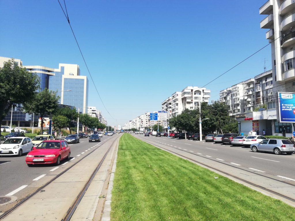 Pe Calea Bucureşti se va extinde sistemul de management al traficului, pentru prioritizarea tramvaielor şi autobuzelor în intersecţii