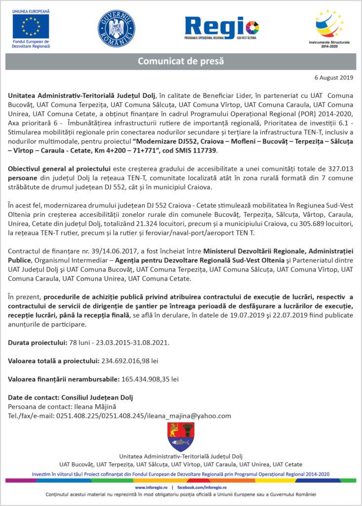 Unitatea Administrativ-Teritorială Judeţul Dolj
