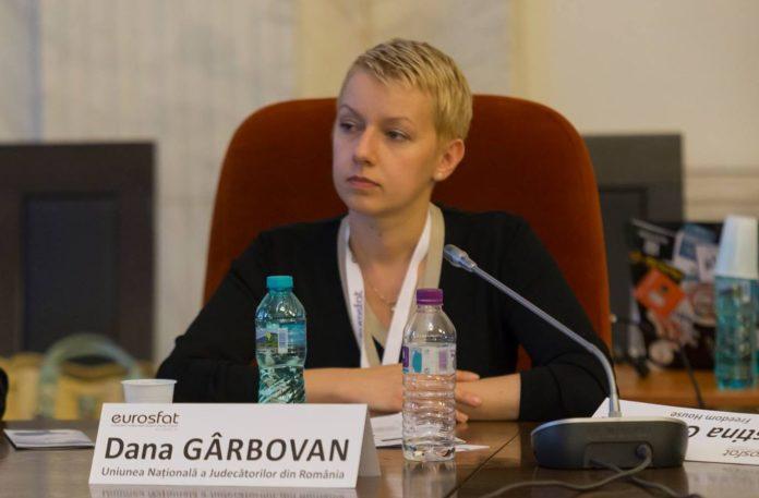 Dana Gîrbovan și-a depus demisia din magistratură